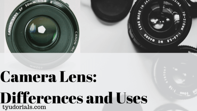 Knowing Camera Lens